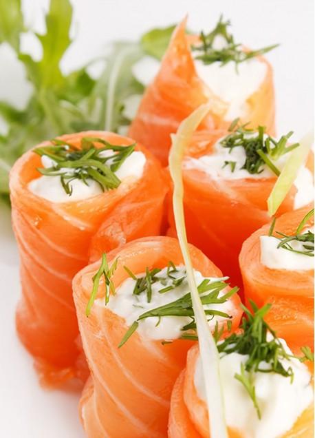 Salmon Ahumado Slice Premium  Bandeja 500 grs.
