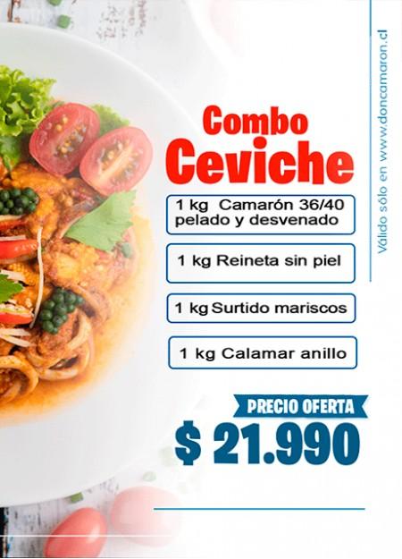 Combo Ceviche Oferta Semana Santa